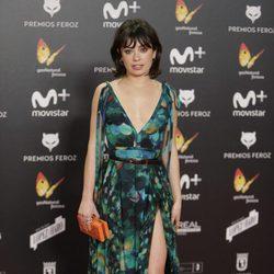 Anna Castillo en la alfombra de los Premios Feroz 2018