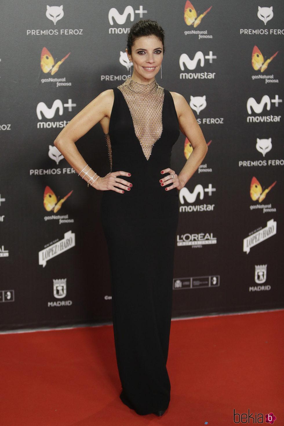 Maribel Verdú en la alfombra roja de los Premios Feroz 2018
