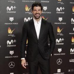 Miguel Ángel Muñoz en la alfombra roja de los Premios Feroz 2018