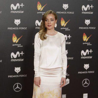 Ángela Cremonte en la alfombra roja de los Premios Feroz 2018
