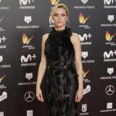 Maggie Civantos en la alfombra roja de los Premios Feroz 2018