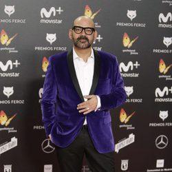José Corbacho en la alfombra roja de los Premios Feroz 2018