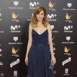 Leticia Dolera en la alfombra roja de los Premios Feroz 2018