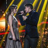 Alfred y Amaia en el dúo de la gala 12 de 'OT 2017'