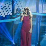 Amaia en su actuación como solista de la gala 12 de 'OT 2017'