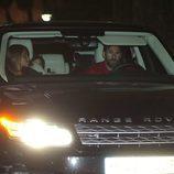 Leo Messi y Antonella Roccuzzo en el 5 cumpleaños de Milan Piqué