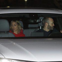 Andrés Iniesta y Anna Ortiz en el 5 cumpleaños de Milan Piqué