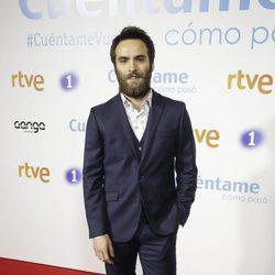 Ricardo Gómez en la premier de la 19 temporada de 'Cuéntame'