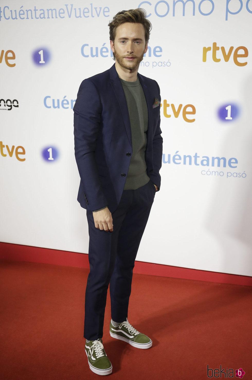 Pablo Rivero en la premier de la 19 temporada de 'Cuéntame'