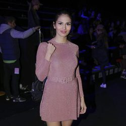 Sara Sálamo en el desfile de María Escoté en Madrid Fashion Week otoño/invierno 2018/2019