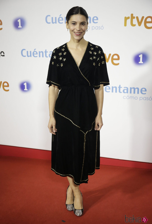 Irene Visedo en la premier de la 19 temporada de 'Cuéntame'