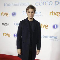 Carlos Cuevas en la premier de la 19 temporada de 'Cuéntame'