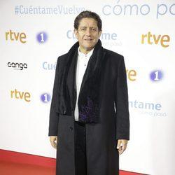 Pedro Casablanc en la premier de la 19 temporada de 'Cuéntame'