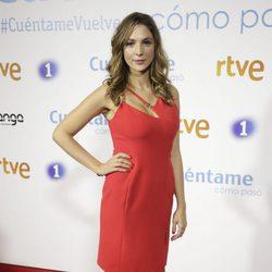 Paloma Bloyd en la premier de la 19 temporada de 'Cuéntame'