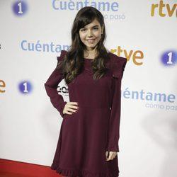 Paula Gallego en la premier de la 19 temporada de 'Cuéntame'