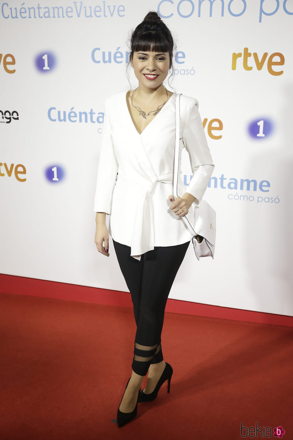 Ana Arias en la premier de la 19 temporada de 'Cuéntame'