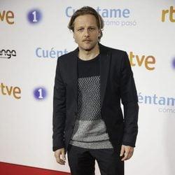 Juan Díaz en la premier de la 19 temporada de 'Cuéntame'