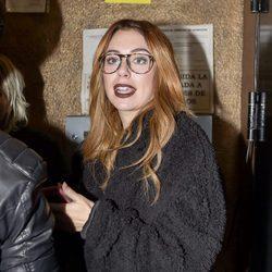 Blanca Suárez llegando al concierto de Marlon tras los rumores de ruptura con Joel Bosqued