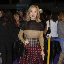 Carmen Lomana en el desfile de Jorge Vázquez en Madrid Fashion Week otoño/invierno 2018/2019