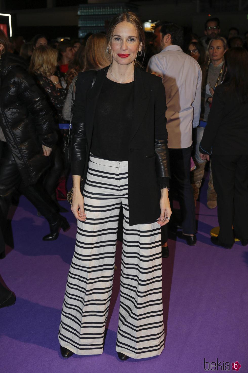 Carola Baleztena en el desfile de Jorge Vázquez en Madrid Fashion Week otoño/invierno 2018/2019