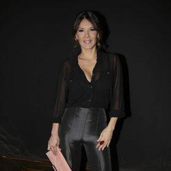 Ivonne Reyes en el desfile de Hannibal Laguna en Madrid Fashion Week otoño/invierno 2018/2019