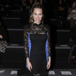Vanesa Romero en el desfile de Hannibal Laguna en Madrid Fashion Week otoño/invierno 2018/2019