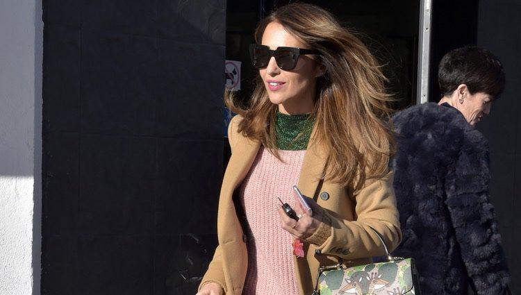 Paula Echevarría pasea por Madrid tras conocerse su posible relación con Miguel Torres