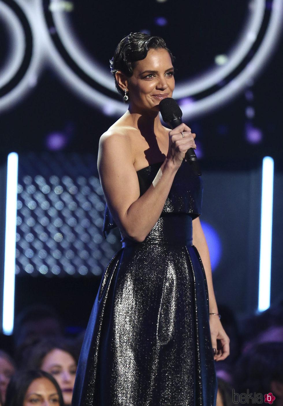 Katie Holmes en los Premios Grammy 2018