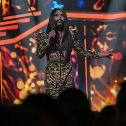 Conchita Wurst en la gala de elección de Eurovisión de 'OT 2017'
