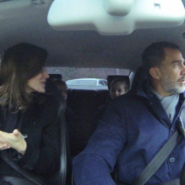 Así son en la intimidad los Reyes Felipe y Letizia y sus hijas Leonor y Sofía