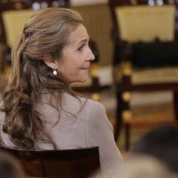 La Infanta Elena en la entrega del Toisón de Oro a la Princesa Leonor