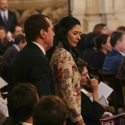 Jesús Ortiz y Ana Togores en la entrega del Toisón de Oro a la Princesa Leonor
