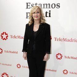 Nieves Herrero en la presentación del documental 'La noche del Rey'