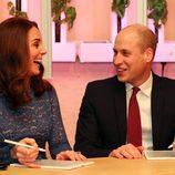 Los Duques de Cambridge, muy sonrientes durante su visita oficial a Noruega