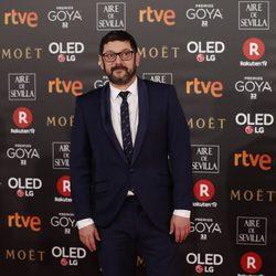 Manolo Solo en la alfombra roja de los Premios Goya 2018
