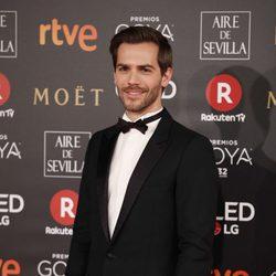 Marc Clotet en la alfombra roja de los Premios Goya 2018