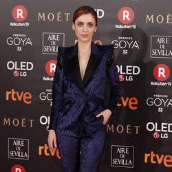 Leticia Dolera en la alfombra roja de los Premios Goya 2018