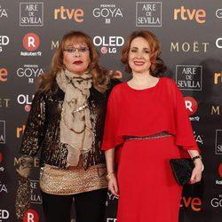 Massiel en la alfombra roja de los Premios Goya 2018