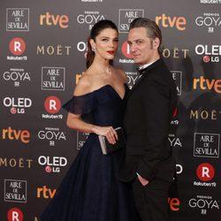 Ernesto Alterio y Juana Acosta en la alfombra roja de los Premios Goya 2018