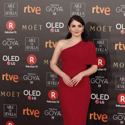 Andrea Duro en la alfombra roja de los Premios Goya 2018