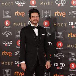 José Manuel Seda en la alfombra roja de los Premios Goya 2018