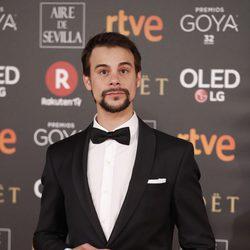 Ferran Vilajosna en la alfombra roja de los Premios Goya 2018