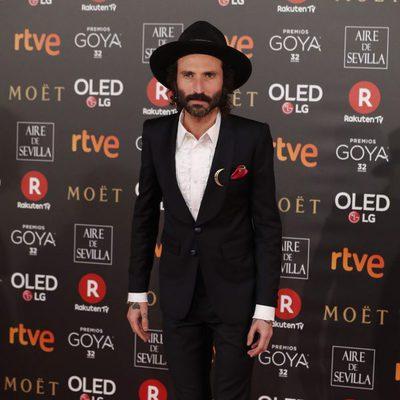 Miguel Conejo Leiva en la alfombra roja de los Premios Goya 2018