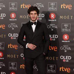 Quim Gutiérrez en la alfombra roja de los Premios Goya 2018