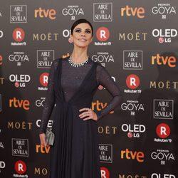 Maribel Verdú en la alfombra roja de los Premios Goya 2018