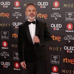 Javier Gutiérrez en la alfombra roja de los Premios Goya 2018