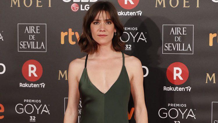 Bruna Cusi en la alfombra roja de los Premios Goya 2018