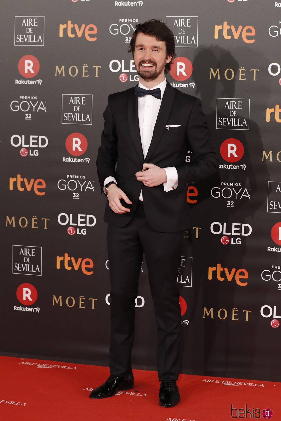 Santiago Alver En La Alfombra Roja De Los Premios Goya