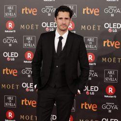 Juan Diego Botto en la alfombra roja de los Premios Goya 2018