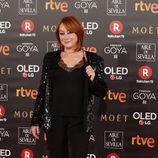 García Querejeta en la alfombra roja de los Premios Goya 2018